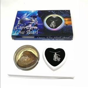 Capricorn Constellation Wish Pearl Oyster Gift Set